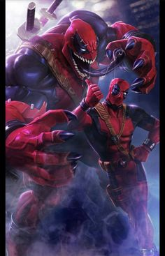 Deadpool Venom Picture for Mobile Phone Wallpaper - HD Wallpapers Deadpool En Hd, Deadpool Y Spiderman, Deadpool Pikachu, Deadpool Funny, Spiderman Art, Deadpool Movie, Deadpool Tattoo, Deadpool Quotes, Deadpool Costume