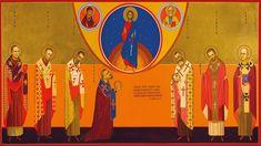 Holy New Martyrs of Romania, pray to God for us! Praying To God, Catholic, Christian, Painting, Romania, Art, Art Background, Painting Art, Kunst
