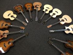 Circle of Awesome! Taylor Acoustic Guitars