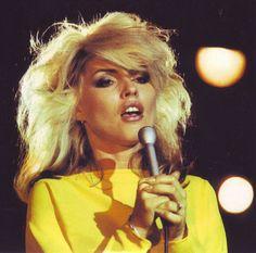 Debbie Harry in concert