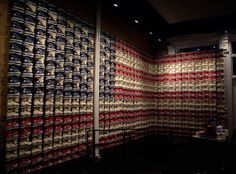 The American Flag Made of Toy Soldiers, Sneakers, Legos, Eyeglasses & More.