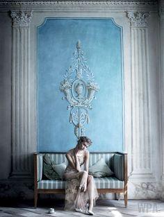 'Destination Detox' Karlie Kloss by Mario Testino for US Vogue July 2013