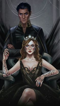 A Court Of Wings And Ruin, A Court Of Mist And Fury, Book Characters, Fantasy Characters, Fanart, Feyre And Rhysand, Sarah J Maas Books, Crescent City, Look At The Stars