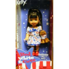 Barbie  Kelly Doll Red White