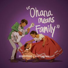 """""""Ohana means family. Family is no one gets left behind. But if you want to leave, you can."""" akhirnya buat mama imelda dan hector plus coco *salah quote film woy Disney Pixar, Disney Au, Arte Disney, Disney Fan Art, Disney And Dreamworks, Disney Animation, Disney Magic, Animation Films, Disney Animated Movies"""