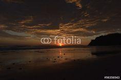 Abendstimmung an der Playa Barrigona in Costa Rica