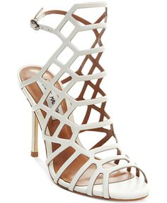 Steve Madden Women's Slithur Caged Sandals