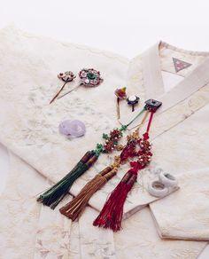 Korean Hanbok 한복린 족두리와 다양한 장신구 : 네이버 블로그