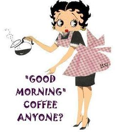 betty boop good morning images wallpaper pic for Whatsapp Status Good Morning Coffee, Good Morning Picture, Good Morning Good Night, Good Morning Wishes, Good Morning Images, Good Morning Quotes, Morning Pictures, Gd Morning, Morning Pics