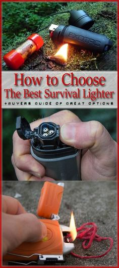 No survivalist or outdoor adventurer should be going about without a trusty survival lighter by his side.It's one of the most important things you should stash on your kit and backpack. If you've ever built a bug-out bag then you'll know that it's a must-have. What's so important about a lighter? It can be your ...