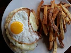 A Sandwich a Day: Croque Madame at Troquet