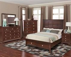 Avignon Casual Chocolate Brown Drawer Chest
