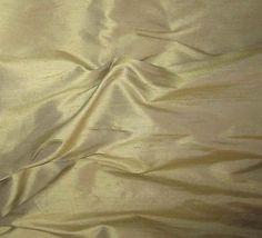 "Golden Citron - Silk Dupioni (7""x54"")"