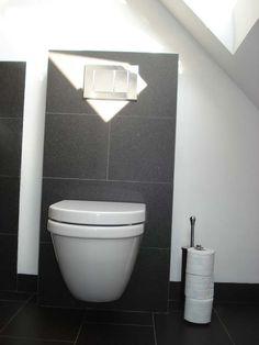 Kleine badkamer inrichten inspiratie voor de kleine badkamers best van ideas - Kleur modern toilet ...