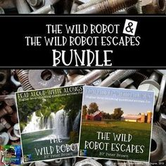 The Wild Robot and The Wild Robot Escapes Bundle Read Aloud Write Along The Wild Robot, 4th Grade Classroom, Classroom Ideas, Balanced Literacy, I Love Reading, Best Selling Books, Common Core Standards, Writing Activities, Read Aloud