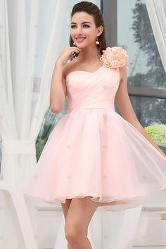 A-line Ein-Schulter Mini Chiffon Elegent Princess Sweet Sixteen Kleider140,56 € 80,32 €