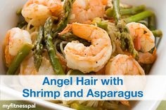 Enjoy a light pasta dish with delicious shrimp and asparagus in this recipe from @skinnytaste.