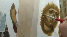 ΜΑΘΗΜΑ ΑΓΙΟΓΡΑΦΙΑΣ ΠΡΟΣΩΠΟ ΠΑΝΑΓΙΑΣ ΜΕΡΟΣ 2 Sacred Art, Painting, Painting Art, Paintings, Painted Canvas, Drawings