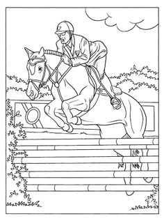 Ausmalbilder Pferde Turnier - Ausmalbilder Pferde ...