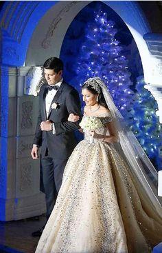 "LEBANESE WEDDINGS on Instagram: ""Full video on our YouTube channel ( Link in Bio) _________________ ▪︎Entrance Song: @music.designers @salimassaf ▪︎Wedding planner and…"" Winter Gowns, Lebanese Wedding, Winter Wedding Colors, Wedding Story, Dream Wedding, Wedding Videos, Celebrity Weddings, Wedding Designs, Bridal Dresses"