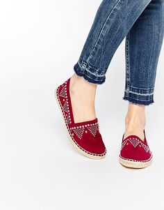 Image 1 of ASOS JESSY Studded Espadrilles