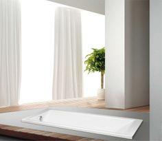 Becky EU PREMIUM EGYENES KÁD Alcove, Bathtub, Bathroom, Standing Bath, Washroom, Bath Tube, Bath Tub, Bathrooms, Tubs