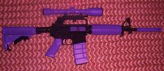 Purple AR15...so you can have something pretty to murder with