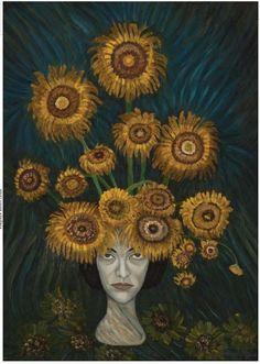 Azalea Q. Auto retrato 2004 Painting, Venezuela, Portraits, Historia, Autos, Artists, Painting Art, Paintings, Painted Canvas
