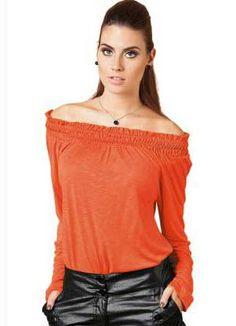 blusa ciganinha laranja 11