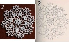 Doilies, Crochet Projects, Snowflakes, Rugs, Home Decor, Farmhouse Rugs, Decoration Home, Snow Flakes, Room Decor