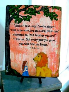 CS Lewis Quote, Print on Wood