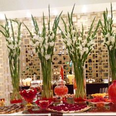 Elegant #candy and #dessert table by www.candybarcouture.com