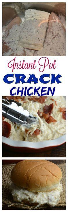Instant Pot Crack Chicken                                                                                                                                                                                 More