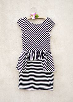 Mirelle Striped Dress. Birthday Girl will be wearing this with a red cardigan.