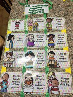 Le regole Italian Grammar, Italian Language, Token Economy, Learning Italian, Circle Time, Primary School, Classroom Management, Montessori, Back To School