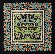 Pamela Dalton Scherenschnitte - One Woman Show Woman Show, Book Art, Origami, Art Tribal, Paper Cutting, Cut Paper, Paper Artwork, Diy Embroidery, Antique Books