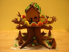 Gingerbread Tree house