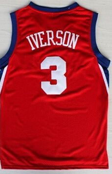 364276d73c3 Hight Quality Free Shipping Retro  3 Allen Iverson Basketball Jersey  Throwback Jerseys Embroidery Logo Mesh Black White Blue-031