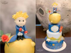 Colin's The Little Prince Themed Party – Cake