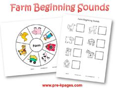 Farm Theme Activities in Preschool