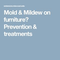 Mildew can negatively affect your health and home. Visit our website today to learn how to how to prevent and remove mildew. Mildew Stains, Mold And Mildew, Cleaning Hacks, Remove Mold, Organization, Furniture, Getting Organized, Organisation, Mold Removal