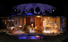Over the Tavern. Arvada Center for the Arts and Humanities. Kent Homchick, set designer.