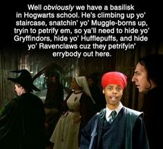 haha for the Harry Potter fans