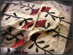 Cockscomb quilt