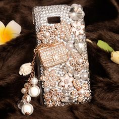 For HTC Desire 600,Bling Bling luxury Rhinestone clear plastic mobile phone decoration drill shell Case cover For HTC Desire 600