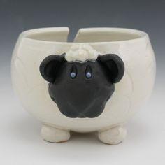 NobleKnits.com - Pawley Studios Sheep Yarn Bowls for Knitting and Crocheting, $49.00 (http://www.nobleknits.com/pawley-studios-sheep-yarn-bowls-for-knitting-and-crocheting/)