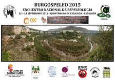 Espeleo Club de Descenso de Cañones (EC/DC): BurgoSpeleo 2015 (Quintanilla de Escalada, 12-13 s...