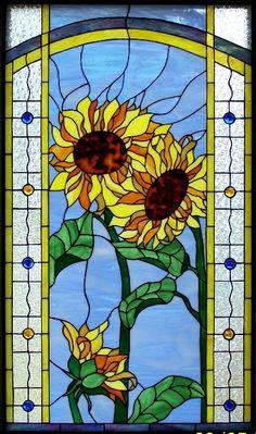 interesting border detail sunflower panel