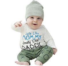 Cheap infant baby clothes, Buy Quality infant baby girl romper directly from China baby rompers letters Suppliers: CHAMSGEND Newborn Infant Baby Boy Girl Long Sleeve Letter Print Romper Jumpsuit Clothes Newborn Outfits, Baby Boy Outfits, Baby Girl Romper, Baby Girls, Little Boys, Infant, Rompers, Letter, Jumpsuit