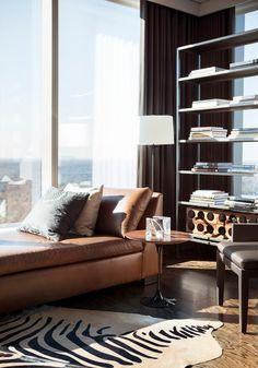 Masculine Interior Design Masculine Condo At The Ritz Carlton Residence Contemporary Ideas